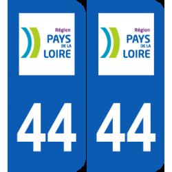 Département 44 Loire Atlantique région pays de la loire