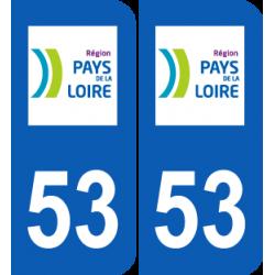 Département 53 Mayenne région pays de la loire