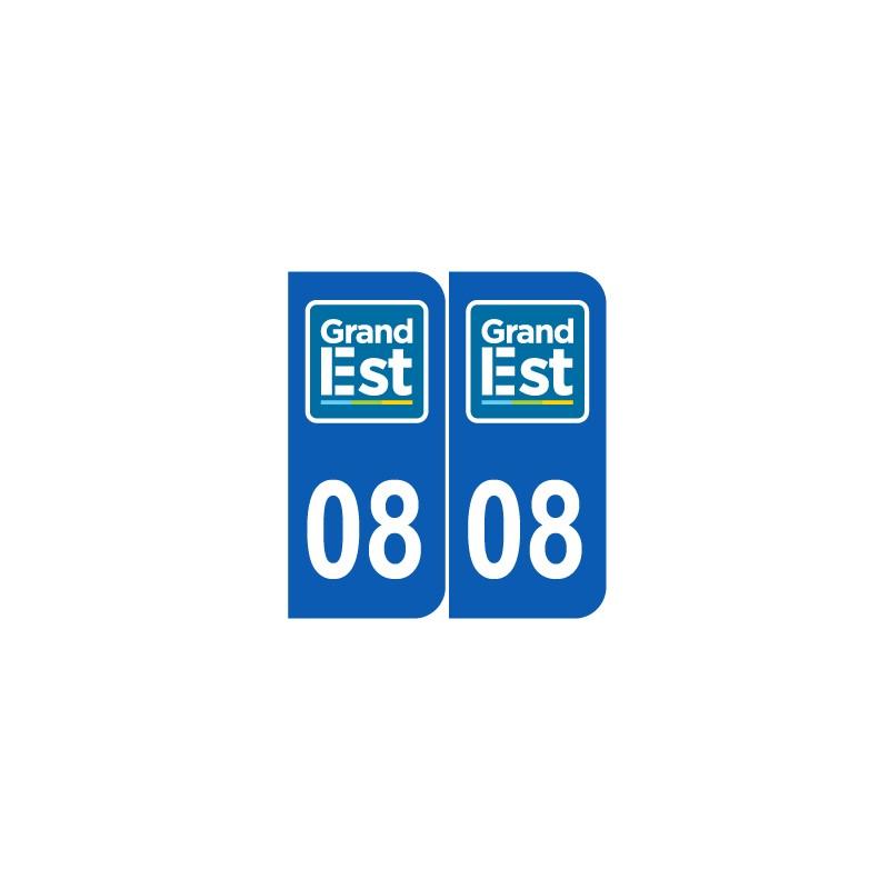 Département 08 Ardennes nouveau logo grand est