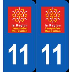 Département 11 aude ancien logo région languedoc roussillon