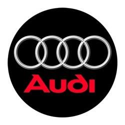 Audi logo noir