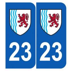 Département 23 Creuse nouveau logo région nouvelle aquitaine
