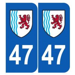 Département 47 Lot et Garonne nouveau logo région nouvelle aquitaine