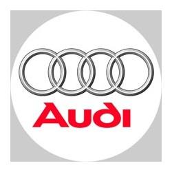 Audi logo blanc