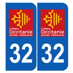 Département 32 Gers nouveau logo région occitanie