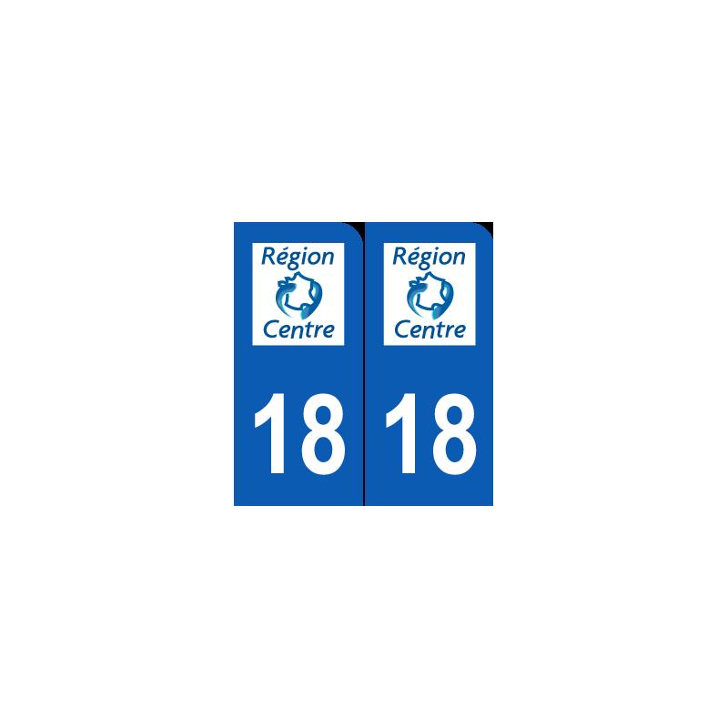 Département 18 Cher ancien logo région centre