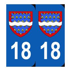 Département 18 Cher bason logo région centre