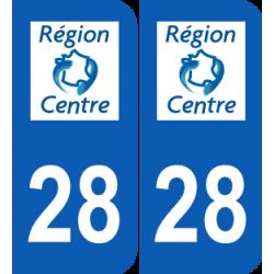 Département 28 Eure et Loir ancien logo région centre