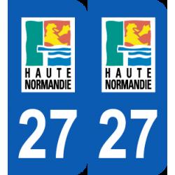 Département 27 Eure ancien logo région seine maritime