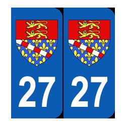 Département 27 Eure blason logo région seine maritime