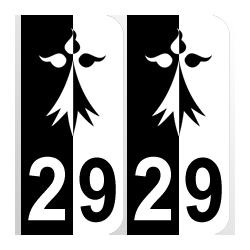 hermine Département 29 Finistère région bretagne