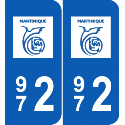 Département 972 Martinique dom tom