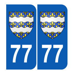 Département 77 Seine et Marne blason