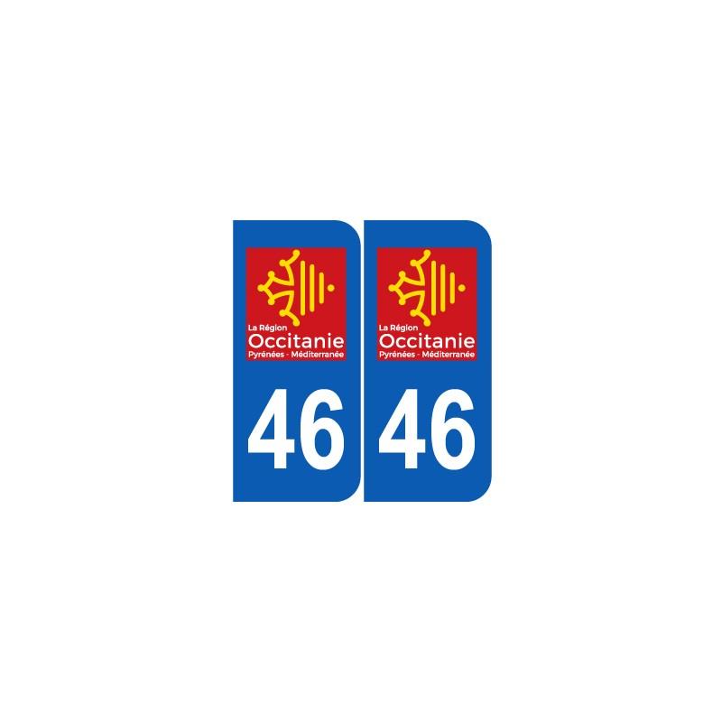 Département 46 Lot nouveau logo  région occitanie