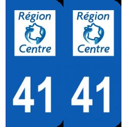 Département 41 Loir et Cher ancien logo région centre
