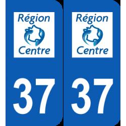 Département 37 Indre et Loire ancien logo région centre
