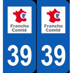 Département 39 Jura ancien logo région franche comté
