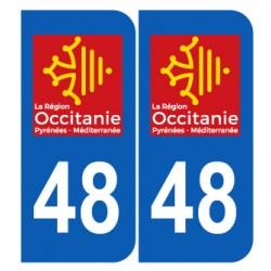 Département 48 Aveyron nouveau logo région occitanie