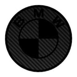 BMW imitation carbone noir