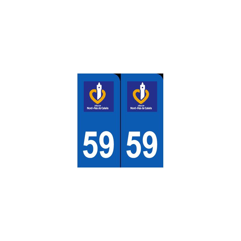 Département 59 Nord ancien logo région nord pas de calais