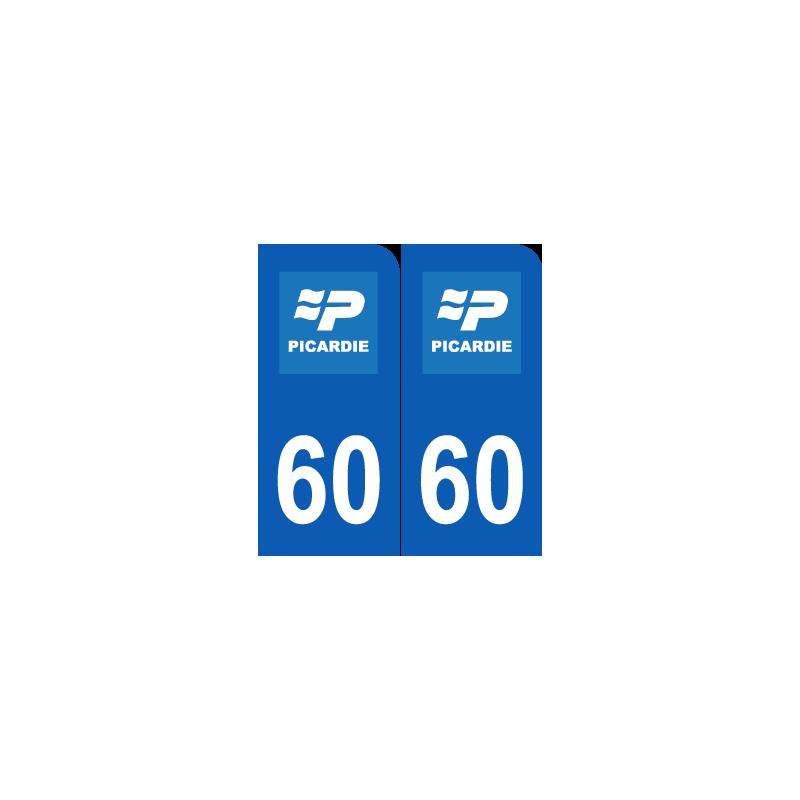 Département 60 Oise ancien logo région picardie