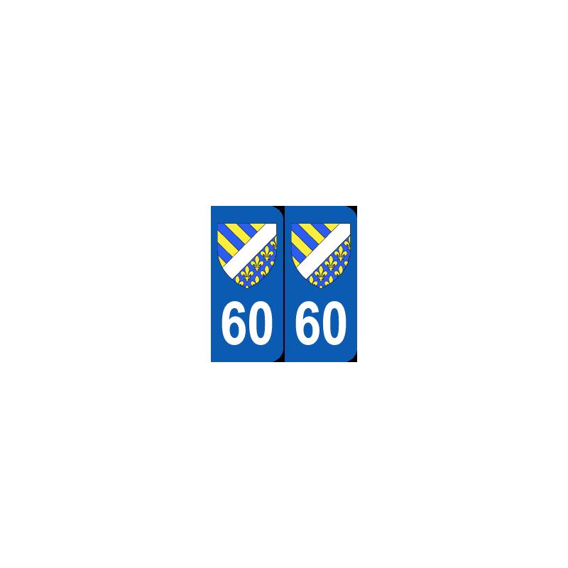 Département 60 Oise blason logo région picardie