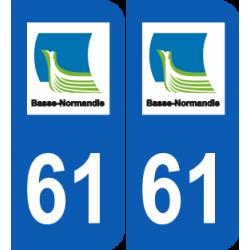 Département 61 Orne ancien logo basse normandie