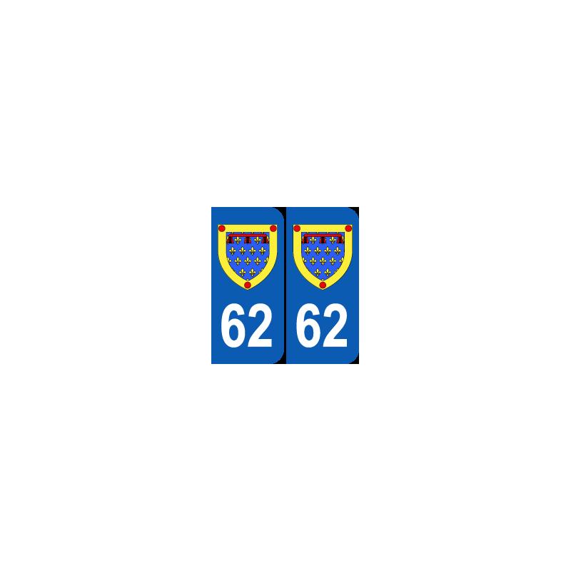 Département 62 Pas de Calais blason logo
