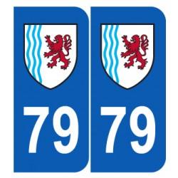 Département 79 Deux Sèvres nouveau logo région nouvelle aquitaine