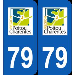 Département 79 Deux Sèvres ancien logo poitou charentes