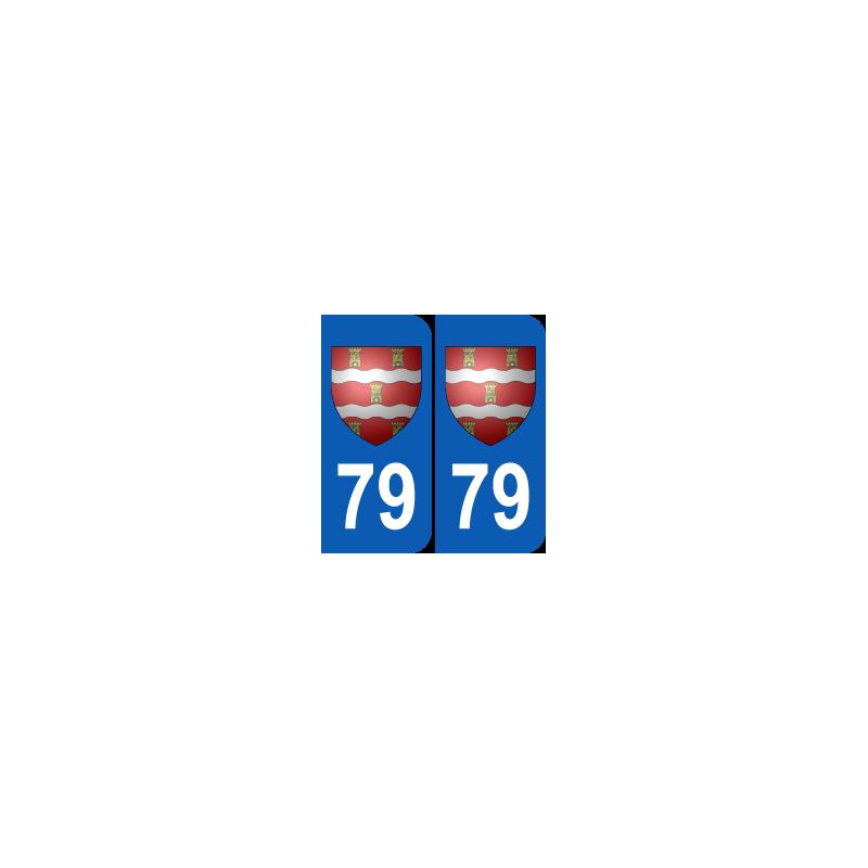 Département 79 Deux Sèvres blason logo poitou charentes
